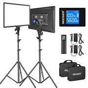Neewer Led Video Lighting Kit With 2.4g Wireless Remote Bi-color 18led Panel
