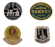 Whisky Distillery Pin Badges - 12 To Choose From