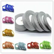 Handmade Decorative Sequined Satin Silk Organza Ribbon Material Home Party Craft