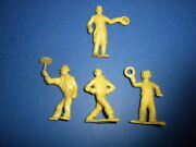 4 Marx Super Circus 1950's Figures Playset The Big Top Performers Lot 5