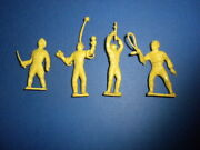 4 Marx Super Circus 1950's Figures Playset The Big Top Performers Lot 4
