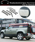 Spare Wheel Tire Cover And Weather Shield Fits For Defender 110 2020 2021 L851