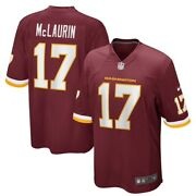 Washington Football Team Terry Mclaurin 17 Nike Menand039s Official Nfl Game Jersey