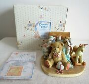 Cherished Teddies 950483 - Old Friends Are The Best Friends -1991 Christopher