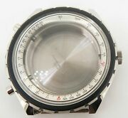 .vintage Breitling Chronomatic Steel 48mm Case Complete Ref 1808 New Old Stock