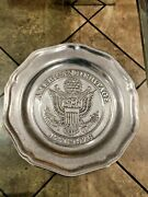 American Heritage 1776 To1976 Limited Edition Pewter Plate Cantrell Collection