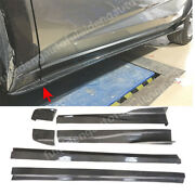 Fit For Lexus Nx200 300 300h 2015-2019 Carbon Fiber Side Skirts Sports Package
