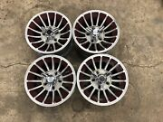 Cragar 14x7 Fan Star Alloy Turbine Wheels Mags Rims Set Of 4 Vintage