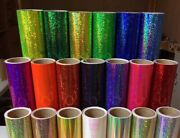 Holographic Sequins Sign Vinyl Sparkle Glitter Twinkle Choose Color And Size