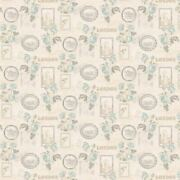 Miniature 112th Scale Pale Blue Roses And Picture Frames Wallpaper
