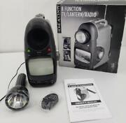 Home Accents 8 Function Tv Lantern Weather Band Radio Emergency Camping Auto