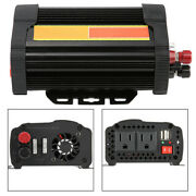 1500w Car Charge Overload Power Inverter Dc 12v To Ac 110v Car Auto Voltage
