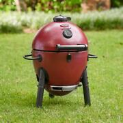 Cast Iron Kamado Charcoal Grill Outdoor Grill Long Lasting Grill Durable Smoker