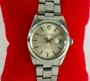 Authentic Vintage Tudor Oysterdate 74000 Menand039s Automatic Watch With Date