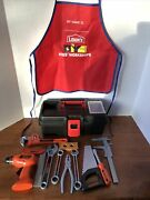 Black And Decker Childs Play Tools Lot Of 13 Pieces Jakks Pacific 2017