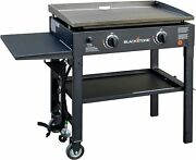 Blackstone 28 Inch Outdoor Flat Top Gas Grill Griddle Station 2burner Propane