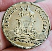 1776 France Medal American Independence Year We Opt For Principles Scarce S499