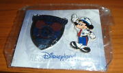 2004 Pin Set Dlr Cast Exclusive Security Badge/officer Mickey Mouse Mint On Card