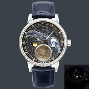 Menand039s Automatic Tourbillon Watches Sky Moon Super Starry Wristwatch Luxury Gift