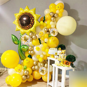 105 Pcs Sunflower Birthday Party Decorations Supplies Kit - Value Pack