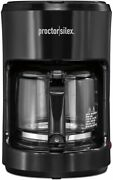 10-cup Coffee Maker, Works With Smart Plugs That Are Compatible W/ Alexa, Black