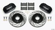 Wilwood Dpha Front Caliper And Rotor Kit Drilled Honda / Acura W/ 262mm Oe Rotor