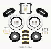 Wilwood Tx6r Front Kit 15.50in Black 2010-up Ford For F150 6 Lug