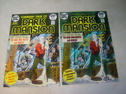 Dark Mansion 13 Cover Art, Original Approval Cover Proof And Painting, 1970's
