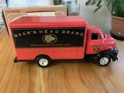 Boars Head Die Cast Metal Bank 1953 Ford Delivery Vanertl Collectible 2000
