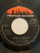 Funk 45/ Jackson Sisters I Believe In Miracles  Prophesy Vg+  Hear