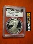 1988 S Proof Silver Eagle Pcgs Pr70 Dcam John Mercanti Hand Signed Black Label