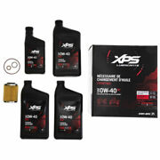 Brp 779257 Can-am 4t 0w-40 Full Synthetic Xps Oil Change Kit Rotax 450cc