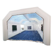 Inflatable Spray Booth Paint Tent Mobile Portable Car Workstation 28x15x10ft Usa