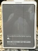 Free Shipping Samsung Galaxy Tab S3 Book Cover Keyboard Case New In Box Gray