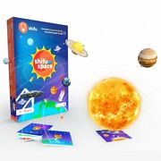 Shifu Space 4d Educational And Fun Game- Solar System 60 Flashcards For 5-10y