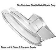Clear Cover Plastic Guard For Kitchenaid Mixer Stainless Steel Metal Bowls Only