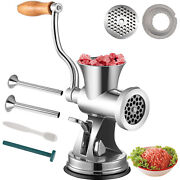 Vevor Heavy Duty Manual Meat Grinder Hand Operated Mincer Food Stainless Steel