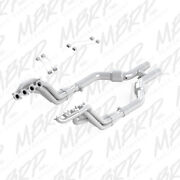 Mbrp Fits 2011 - 2014 Mustang Gt Header, H Pipe Kit 3 T304 Stainless - S7243304