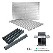 Replacement Parts Grates + 24.5 Flavorizer Bars For Weber Genesis 310 320 330