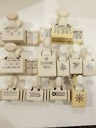 Martha Stewart Die Paper Punch Lot Of 11, Borders And Themes