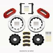 Wilwood Tx6r Front Kit 16.00in Red 1999-2014 For Gm Truck/suv 1500