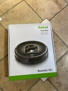 New Irobot Roomba 981 Robot Vacuum-wi-fi Connected Mapping Works With Alexa