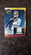 2013 David Ragan Press Pass Ignite Hot Threads Race Used Firesuit - Autographed