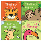 Thatand039s Not My New Childrenand039s Book Bundle | Tiger |sloth | Giraffe | Flamingo