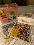 Mickey And Minnie Phonograph Plays All 33 1/3 And 45 R.p.m. Records Model 990 Mm