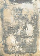 8'x10' Modern Artistic Abstract Oriental Area Rug Hand-knotted Wool/ Silk Carpet