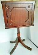 Antique Duncan Phyfe Federal Cigar Humidor Smoke Stand Box Cabinet 1780-1820s
