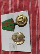 Medal And Order For Border Protection In Albania