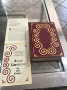 Icl Anna Karenina Collector's Limited Vintage Edition Russian Color Plates 24k G