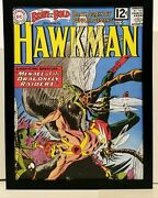 Brave And The Bold 42 Hawkman 9x12 Framed Vintage 1962 Dc Comics Art Print Poster